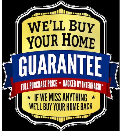 InterNACHI We'll buy your home back guarantee logo