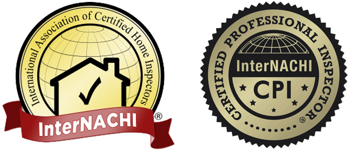 International Association of Certified Home Inspectors InterNACHI logo and InterNACHI Certified Professional Inspector CPI Logo