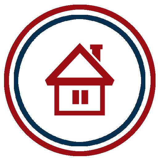 Icon of a house that receives our home inspection services